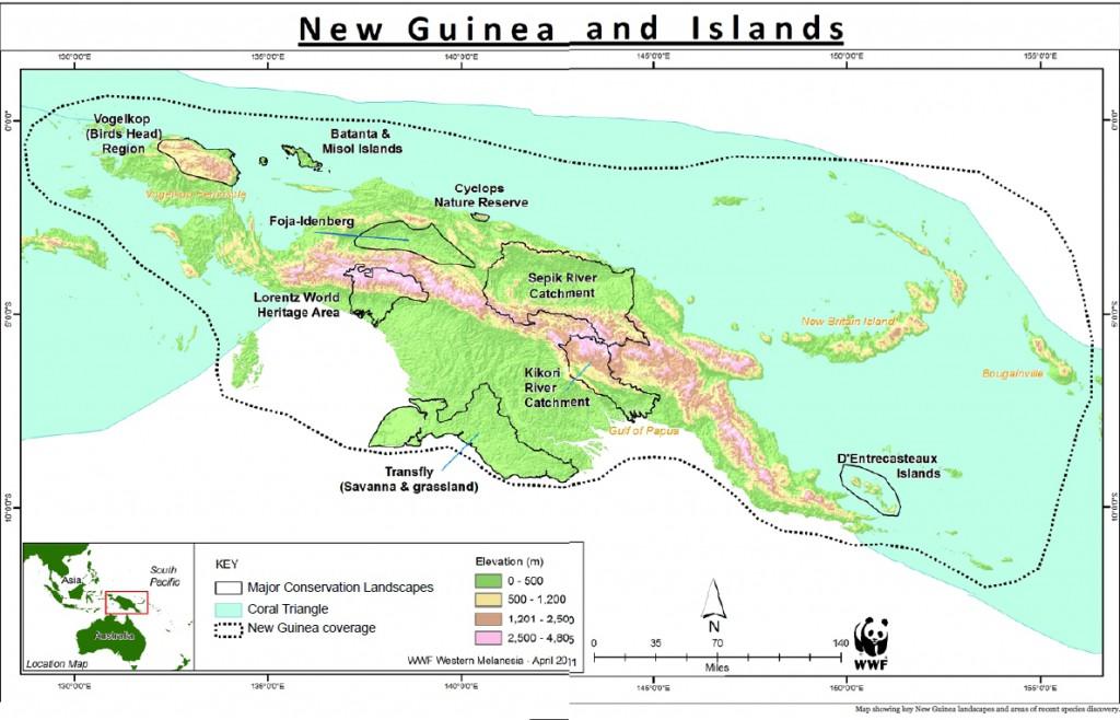 Insel Karte